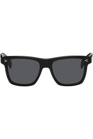 Oliver Peoples Black Acetate Casian Square Sunglasses