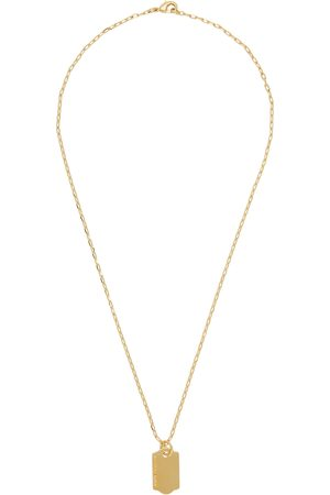 In Gold We Trust Price Tag Necklace