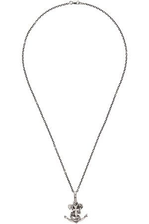 YOHJI YAMAMOTO Snake Anchor Necklace