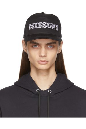 Missoni Sport Black Baseball Cap