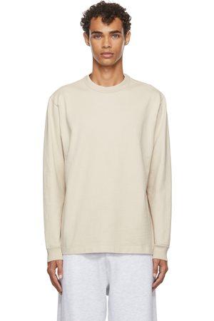 Lady White Co. Men Long Sleeve - Beige Jersey Long Sleeve T-Shirt