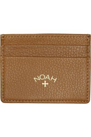 Noah NYC Men Wallets - Brown Leather Cardholder