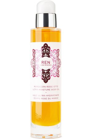 Ren Clean Skincare Moroccan Rose Otto Ultra-Moisture Body Oil, 100 mL
