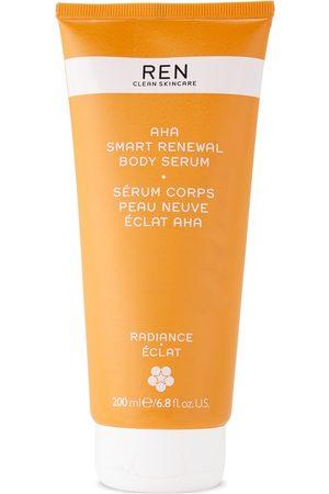 Ren Clean Skincare AHA Smart Renewal Body Serum, 200 mL