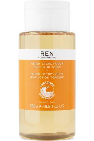 Ren Clean Skincare Ready Steady Glow Daily AHA Tonic, 250 mL