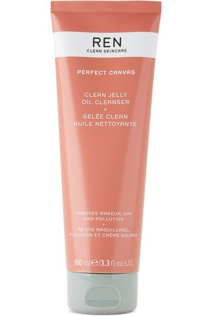 Ren Clean Skincare Perfect Canvas Clean Jelly Oil Cleanser, 100 mL