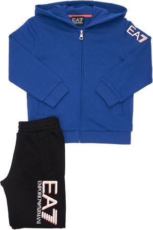 EA7 Cotton Sweatshirt & Sweatpants