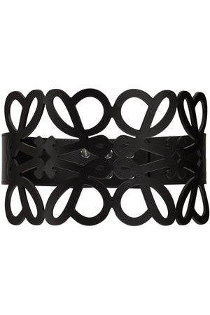 Loewe Anagram Cut Out Leather Belt