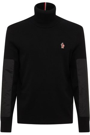 Moncler Stretch Wool Turtleneck Sweater