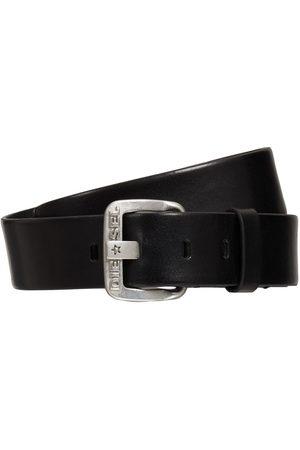Diesel 4cm B-star Leather Belt