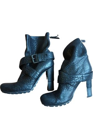 vic matiè Women Ankle Boots - Leather ankle boots