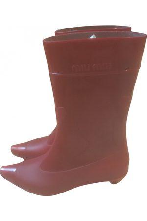 Miu Miu Western boots