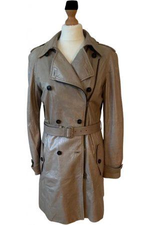 Miu Miu Leather trench coat