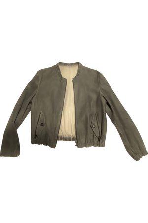 Miu Miu Leather biker jacket
