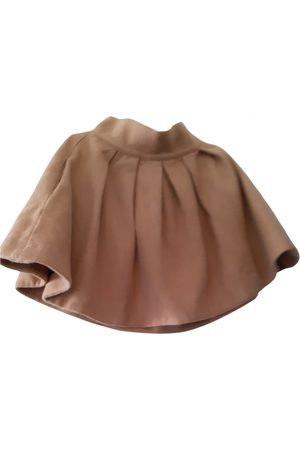 JC DE CASTELBAJAC Wool mini skirt