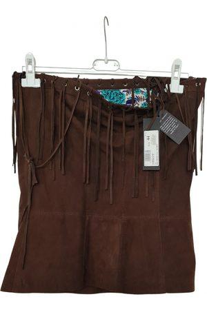 Atos Lombardini Leather mini skirt