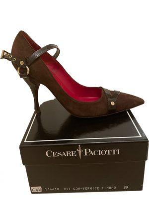 Cesare Paciotti Leather heels