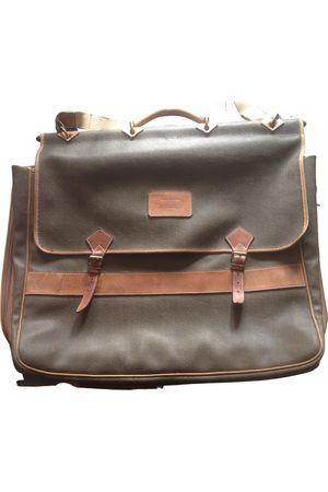 JC DE CASTELBAJAC Leather travel bag
