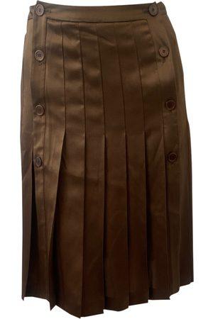 Valentino by Mario Valentino Silk mid-length skirt