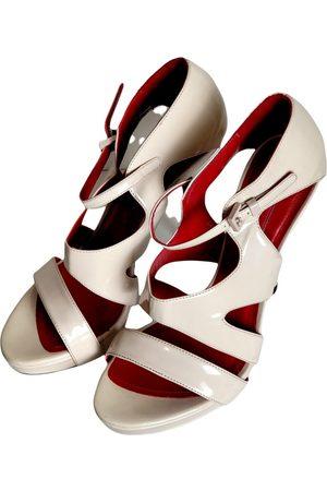 Cesare Paciotti Women Sandals - Patent leather sandals