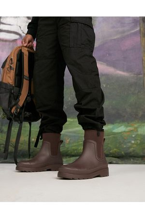 ASOS Wellington boots with scuba detail in