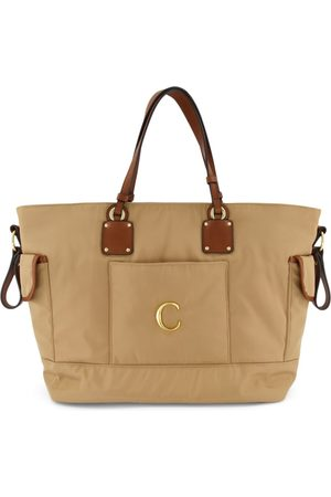 Chloé Kids - Beige Signature C Changing Bag - One Size - - Changing bags