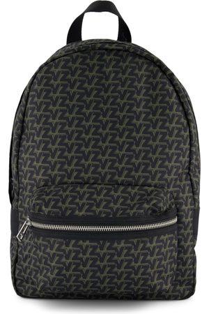 Zadig & Voltaire Kids - Green Allover Logo Backpack - One Size - - Backpacks
