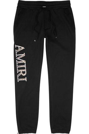 AMIRI Men Sports Pants - Logo cotton sweatpants