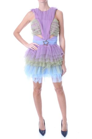 TEENIDOL Dress Women Violet poliestere