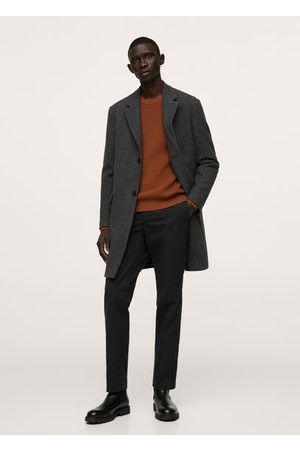 MANGO Structured cotton sweater