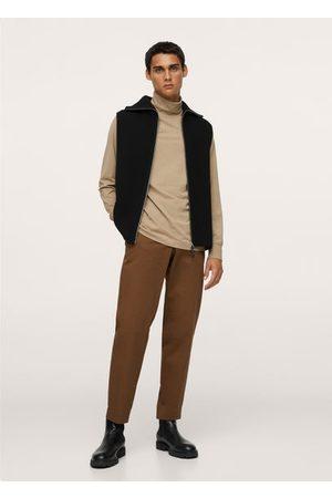 MANGO Men Long Sleeve - Turtleneck long-sleeved t-shirt