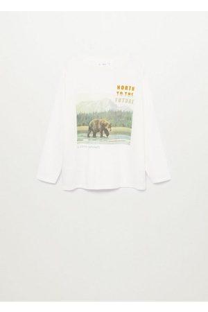 MANGO Boys Long Sleeve - Printed long sleeve t-shirt