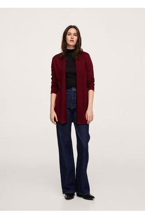 MANGO Fine-knit cardigan