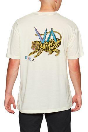 RVCA Ml Tiger s Short Sleeve T-Shirt - Antique