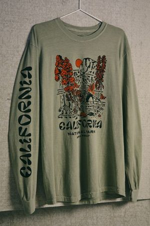 Parks Project Men Long Sleeve - National Parks Of California Long Sleeve Tee