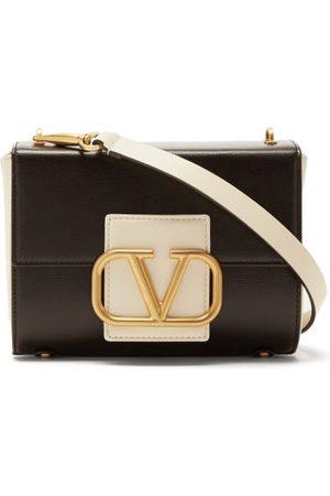 VALENTINO GARAVANI Stud Sign Small Leather Shoulder Bag - Womens