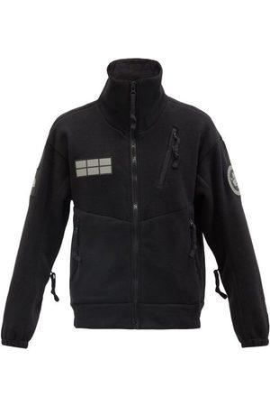 The North Face Men Fleece Jackets - Tae Logo-embroidered Fleece Jacket - Mens