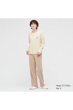 UNIQLO Women Long sleeves - Women's Winnie The Pooh Long-Sleeve Lounge Set, , XS
