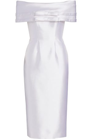 Catherine Regehr Women Strapless Dresses - Off-The-Shoulder Bow Dress