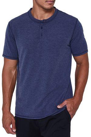 FOURLAPS Men Short sleeves - Radius Short-Sleeve Henley Shirt