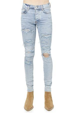 AMIRI Swarovski Crystal Five-Pocket Jeans