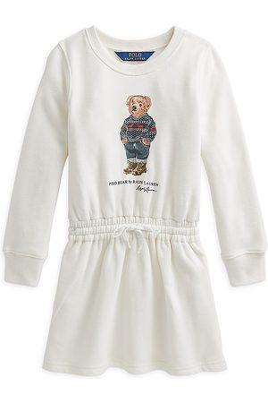 Ralph Lauren Girls Casual Dresses - Little Girl's & Girl's Polo Bear Dress