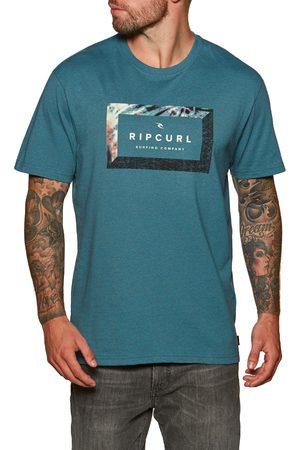 Rip Curl Men Short Sleeve - Tropic World s Short Sleeve T-Shirt - Ocean Marle