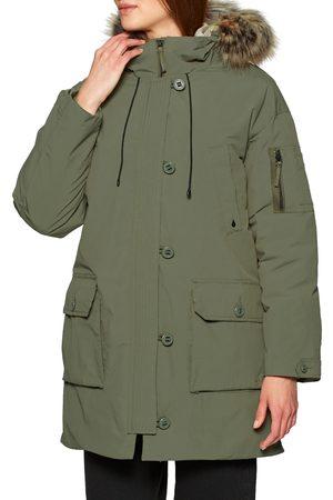 Volcom Women Parkas - Warmer N Over 5k Parka s Jacket - Army Combo
