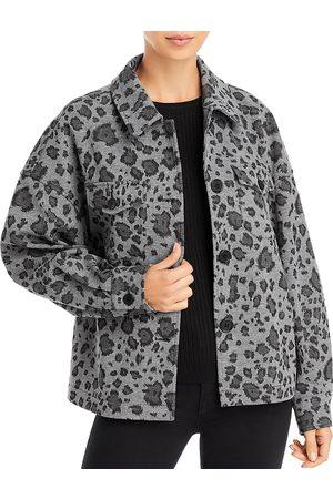 BAGATELLE Brushed Wool Shirt Jacket