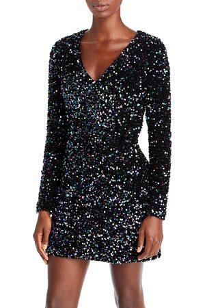 Aqua Women Party Dresses - Sequined Mini Dress - 100% Exclusive