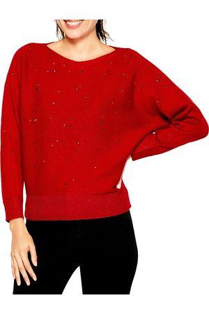 NIC+ZOE Women Kimonos - Nic+Zoe Falling Stars Kimono Sleeve Sweater