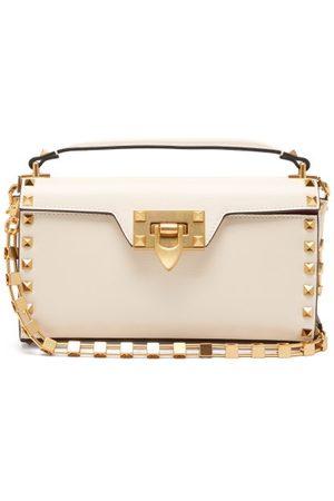 VALENTINO GARAVANI Alcove Rockstud-embellished Leather Shoulder Bag - Womens