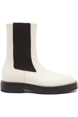 Givenchy Square-toe Leather Chelsea Boots - Womens
