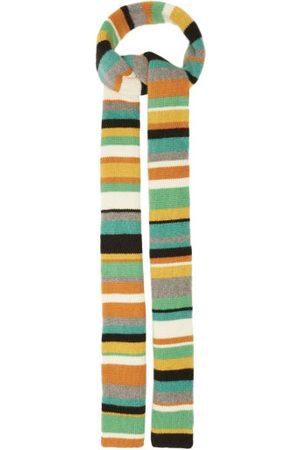 THE ELDER STATESMAN Women Scarves - Striped Cashmere Scarf - Womens - Multi